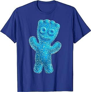 blue sour patch kid costume