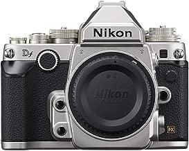 Nikon Df 16.2 MP CMOS FX-Format Digital SLR Camera Body (Silver) (Certified Refurbished)
