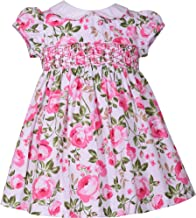 Baby Girl Smocked Cabbage Dress