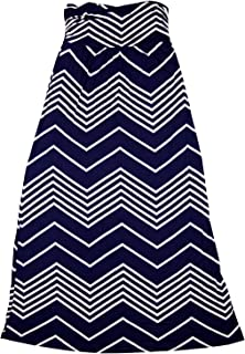 design history strapless chevron maxi dress