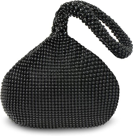1920s Style Purses, Flapper Bags, Handbags BABEYOND 1920s Flapper Handbag Clutch Gatsby Crystal Handbag Roaring 20s Evening Clutch Bag 1920s Gatsby Costume Accessories  AT vintagedancer.com