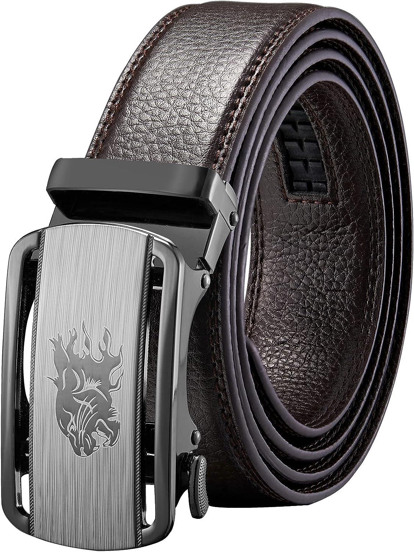 Large discharge sale Men' s Leather Belt Dingzuo belt 32mm Genuine Ratchet Challenge the lowest price of Japan ☆ w