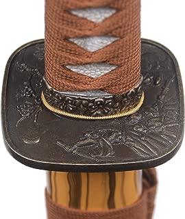Kasne Handmade Katana Japanese Samurai Sword,1095 High Carbon Steel/Damascus Steel, T10 Heat Tempered/Clay Tempered,Full Tang Functional,Hand Forged,Razor Sharp,Battle Ready