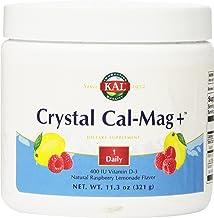 KAL Crystal Cal-Mag Plus Rasplemonade Drinkmix, 11.3 Ounce