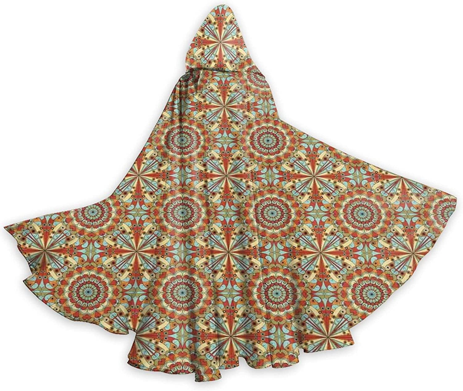 Cloak Colorful And Geometric Patterns [Alternative dealer] Ethnic With Direct stock discount Art Persian El