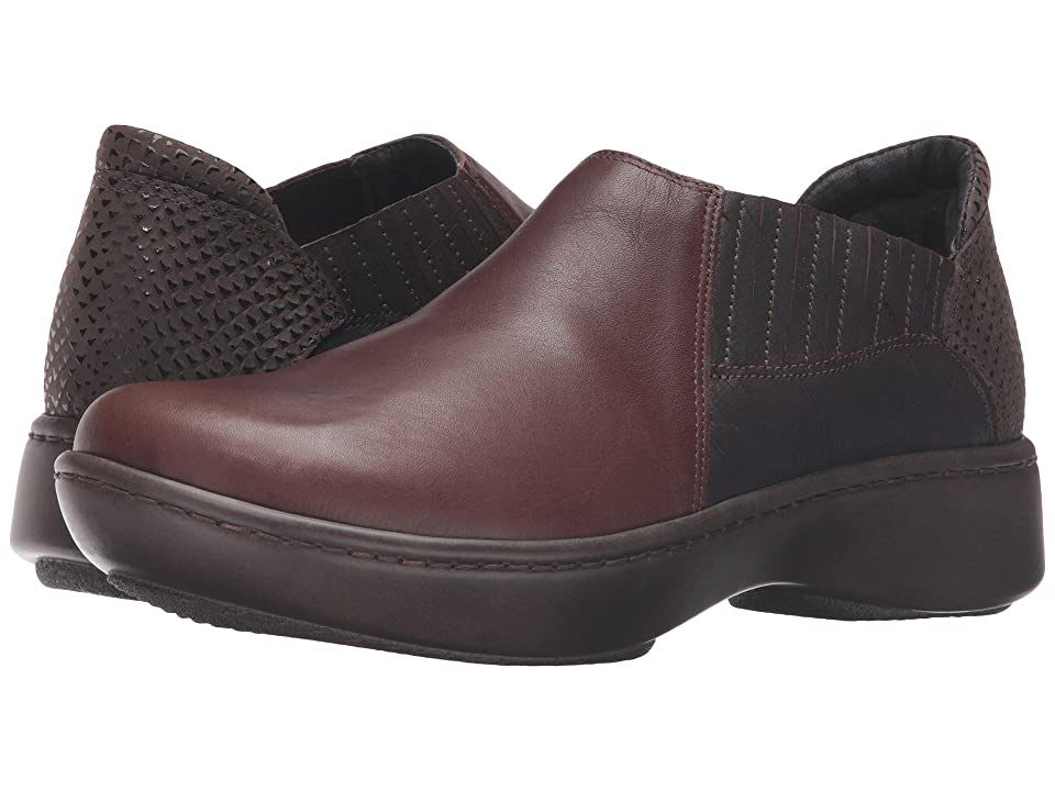 Naot Bay (Toffee Brown Leather/Mine Brown Leather/Brown Croc Leather) Women