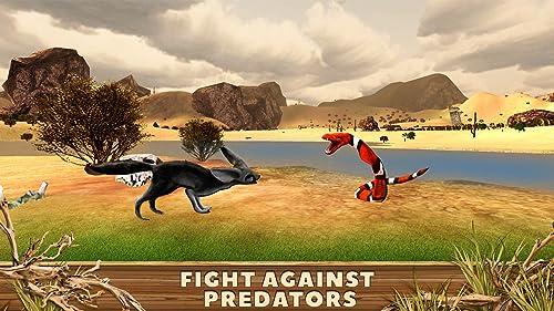 『Fennec Fox Simulator 3D: Desert Wilderness Little Beast Surviving Game』の3枚目の画像