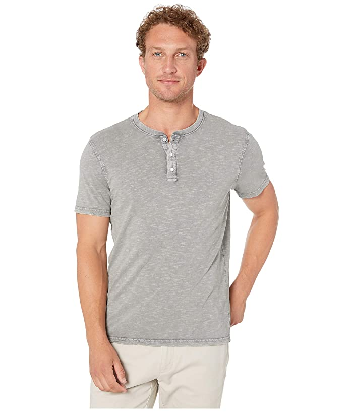 Lucky Brand  Sugar Magic Henley Shirt (Wild Dove) Mens Clothing