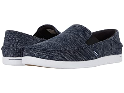 Reef Cushion Bounce Matey Knit (Navy/White) Men