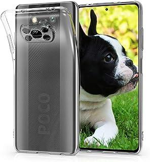 kwmobile 対応: Xiaomi Poco X3 NFC/Poco X3 Pro ケース - クリア TPUケース スリム 保護 耐衝撃 透明