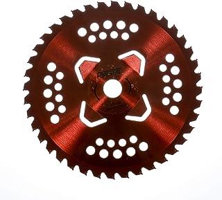 Disco de acero profesional para desbrozadora con sistema antienrollamiento de hierba