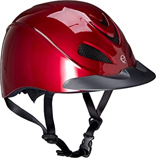 Troxel Liberty Helmet - Ruby RED - Low Profile English & Western Riding Safety