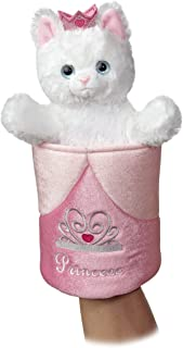 "Aurora World Pop-Up Princess Kitty Puppet Plush, 11"" Tall"