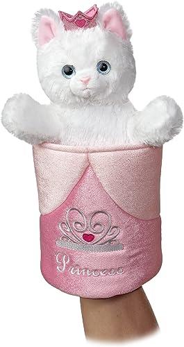 Precio por piso Aurora World Pop-Up Princess Kitty Plush Plush Plush Puppet, 11  Tall  suministro de productos de calidad