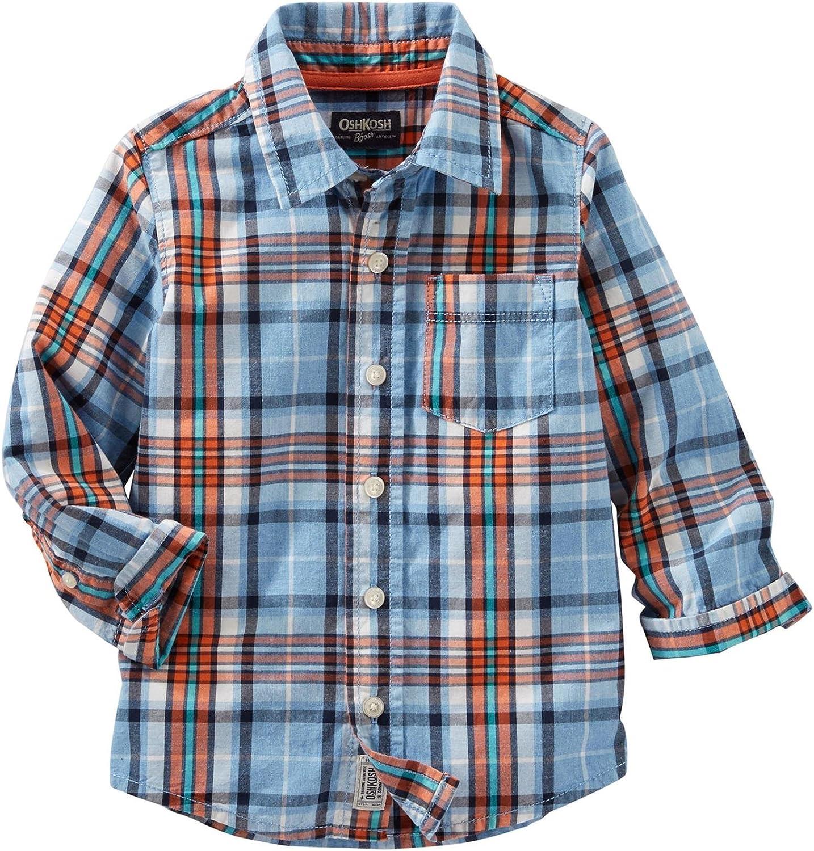 OshKosh B'Gosh Boys' Woven Fashion Top 21383111