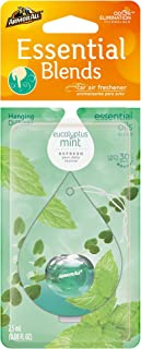 Armor All 18606 Essential Blends Hanging Diffuser Eucalyptus Mint Scent 0.08 fluid ounces