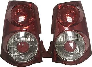1 Pair Tail light For Kia Picanto Morning Eurostar Rear Corner Brake Parking Turn signal Light RED 2006 2007 2008