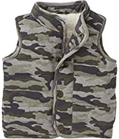Mud Pie Camo Quilted Vest (Infant/Toddler)
