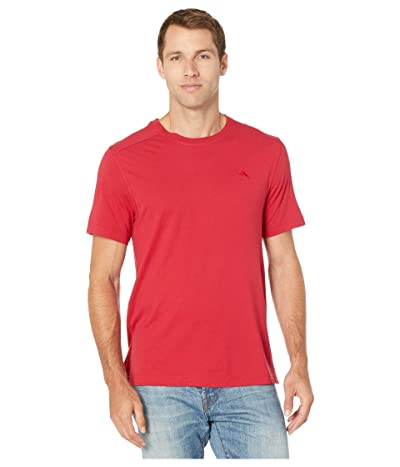 Tommy Bahama Crew Neck Lounge T-Shirt (Jester Red) Men