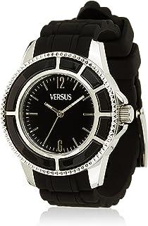 Versus Versace - Versus Reloj Análogo clásico para Mujer de Cuarzo con Correa en Silicona AL13SBQ809A009