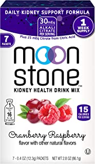 Moonstone Nutrition   Hydration Powder Packets and Supplement for Kidney Support, Function and Protection  ...