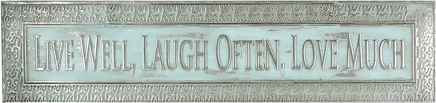 Young's Punched Tin Wall Decorative Sign, 30-Inch x 7-Inch x 1.25-Inch