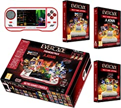 Evercade Premium Pack Includes 3 Cartridges Collections: Atari Volume 1, Interplay Volume 1 and Dataeast Volume 1 - Electr...