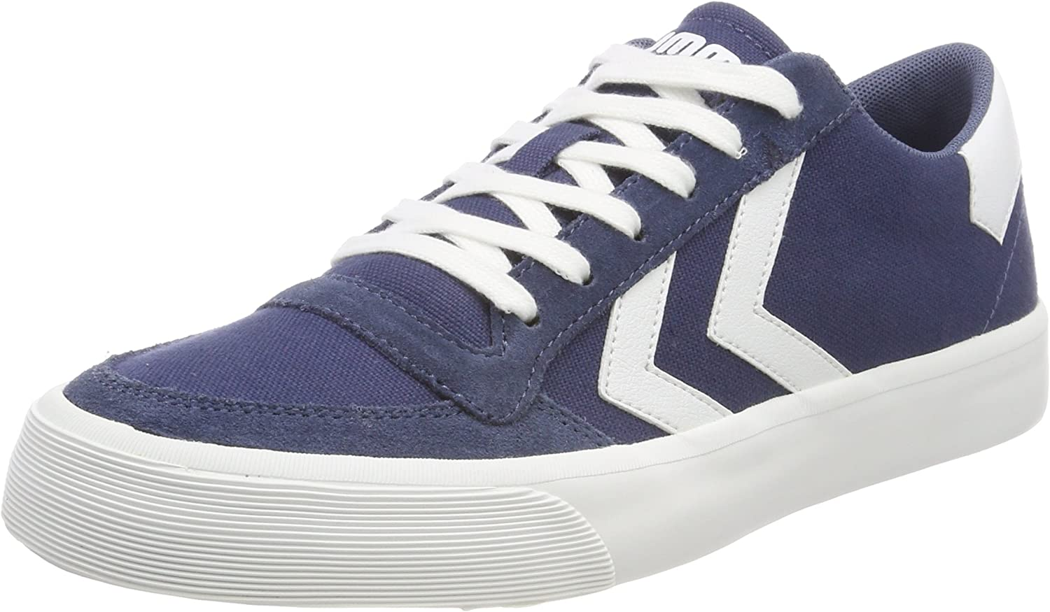 Hummel Unisex Adults' Stadil RMX Low Trainers, Grey White