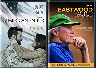 Actor, Director, Producer, Maverick - Clint Eastwood - The Eastwood Factor...35 Films, 35 Years & American Sniper 2-DVD Bundle Documentary and Movie Set