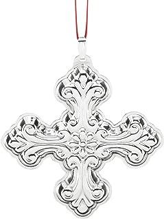 Reed & Barton Annual Cross Ornament