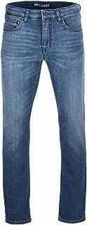 MAC Jeans Men's Trousers Modern Fit Arne Blue Tones - Blue - W34