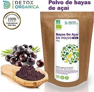 Bayas De Acai En Polvo Orgánico 100 g – Bayas Acai