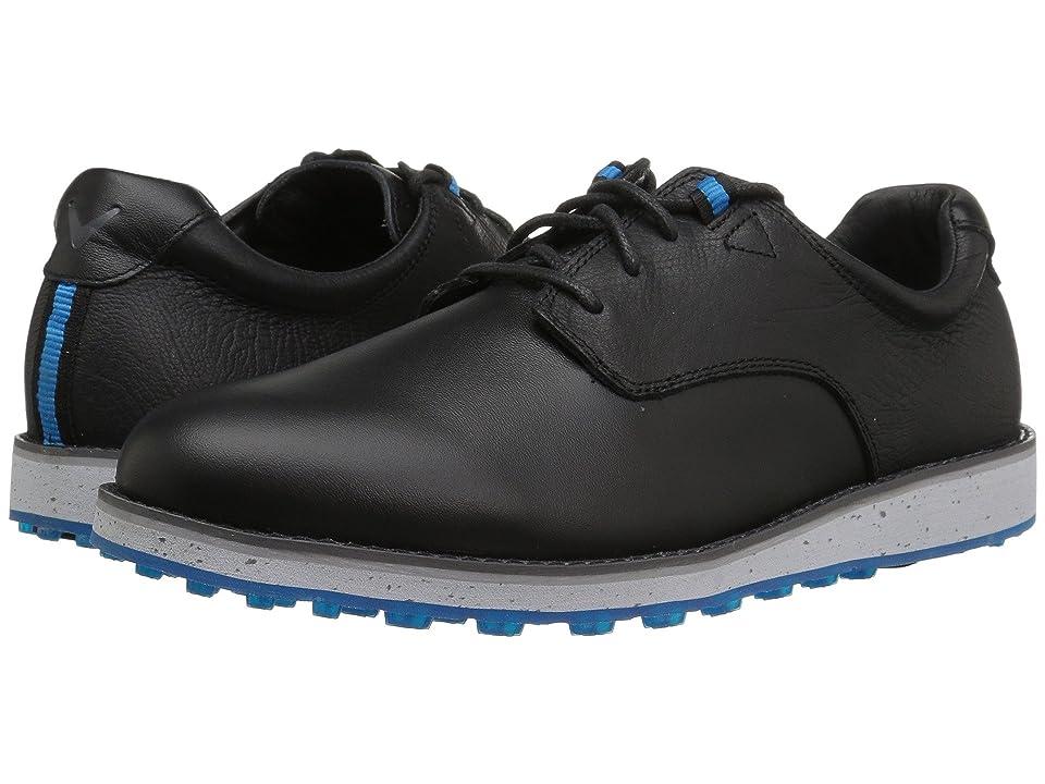 Callaway Swami (Black/Grey) Men's Golf Shoes