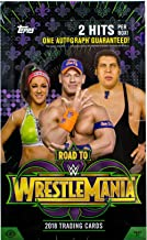 2018 Topps WWE Road to Wrestlemania Collector's Trading Cards Hobby Box of 24 packs