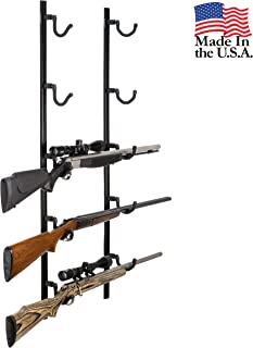 Hold Up Displays USA Made Gun Rack Rifle Shotgun Hanger and Fishing Rod Pole Rack