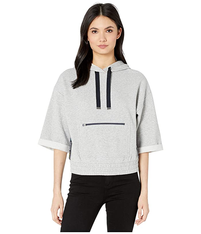 Fleece Hoodie With Juicy Tape by Juicy Couture