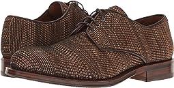 Dark Brown Woven Leather