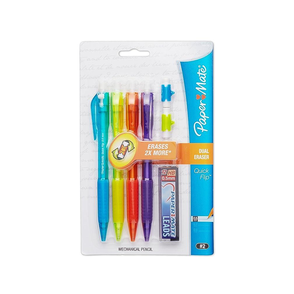 Paper Mate Quick Flip 0.5 Mechanical Pencil Starter Set