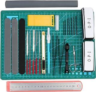 HSEAMALL Kit de herramientas de modelado para Gundam Model Tools Kit, Hobby Building Craft Set para auto Bandai, Hobby Gunpla Model Reparación y fijación de edificios