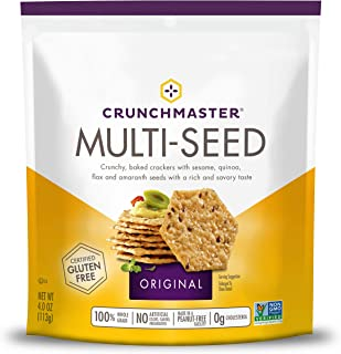 Crunchmaster Multi-Seed Crackers, Original, 4 Oz