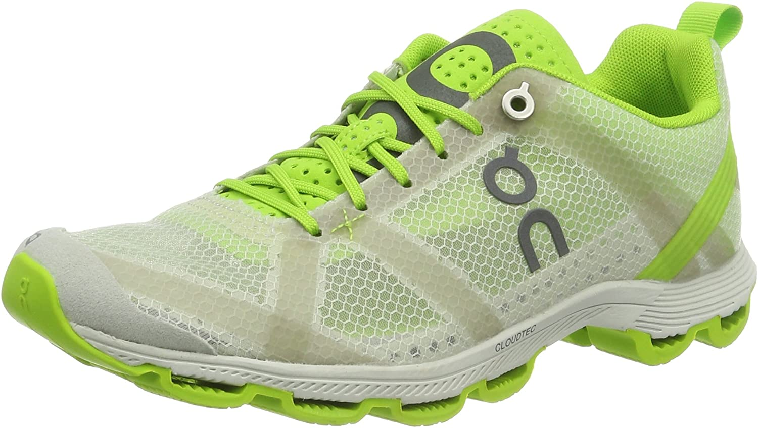 On Running Women's, Cloudracer Running shoes SILVER LIME 10.5 B