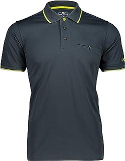 CMP Men's Polo Maniche Corte Ad Asciugatura Rapida Polo Shirt