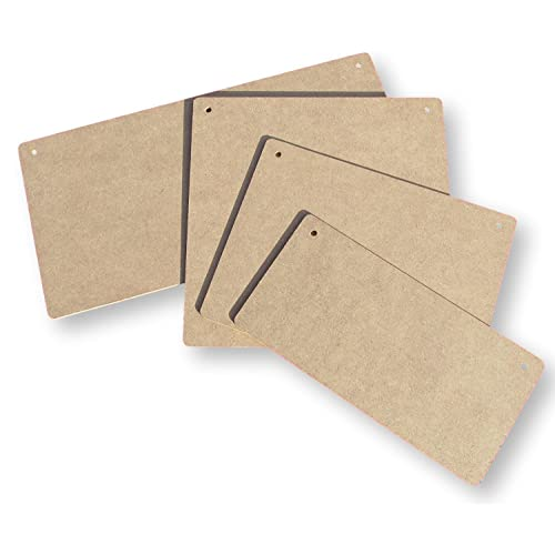 Blank Wooden Craft Plaques Amazoncouk