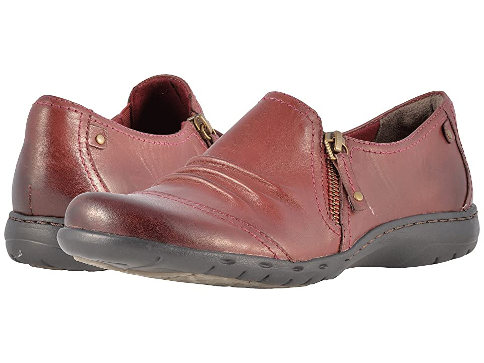 Rockport Cobb Hill Collection Cobb Hill Penfield Zip Shoe (Brick Leather) Women