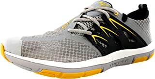 Turner T-Fleerun Shoes - Men's - Grey/Yellow/Black, 12