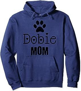 Dobie Mom, Doberman Pinscher Pullover Hoodie