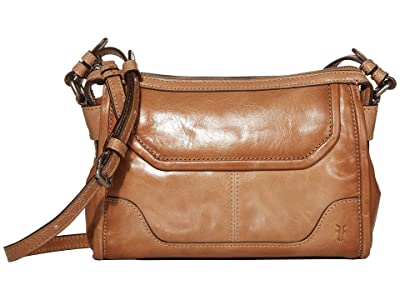 Frye Mel Crossbody (Camel) Cross Body Handbags