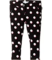 Little Marc Jacobs - Milano All Over Printed Dots Trousers (Toddler/Little Kids)