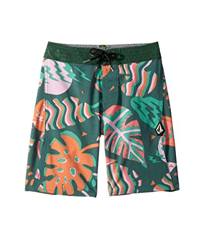 Volcom Kids Scrap Boardshorts (Big Kids) (Cedar Green) Boy