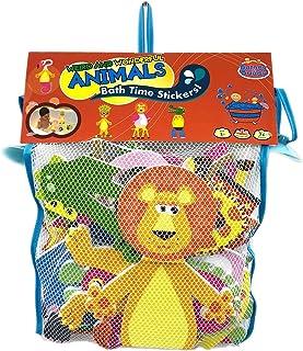 Barney & Buddy BA011 Weird and Wonderful Animals Bath Stickers